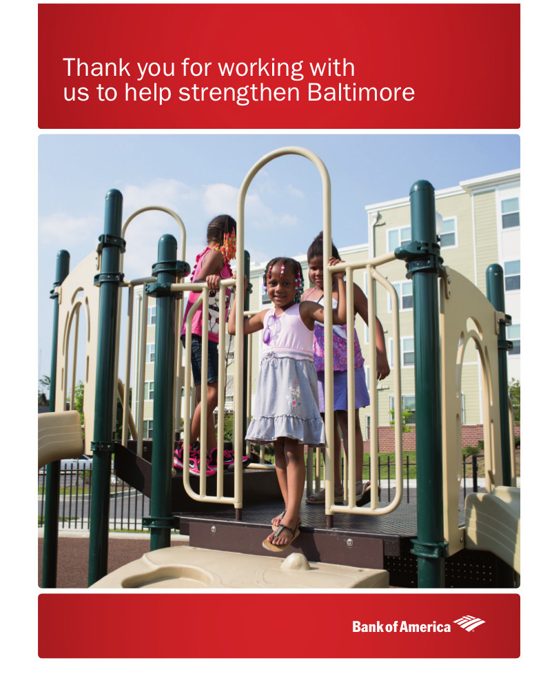 kids playing at playground for bank of america advertisement, washington dc commercial photography