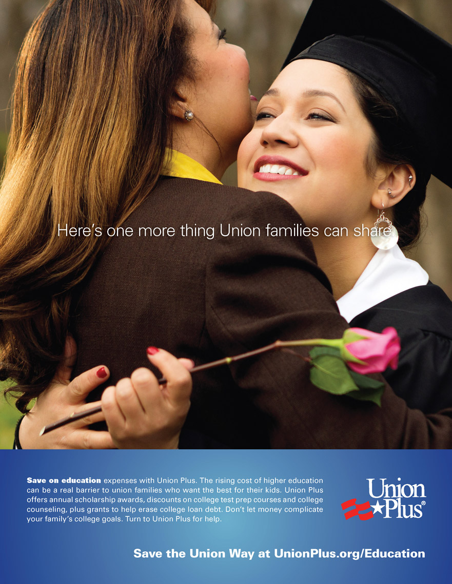 graduate daughter hugging mom for cdc advertisement, washington dc commercial photography
