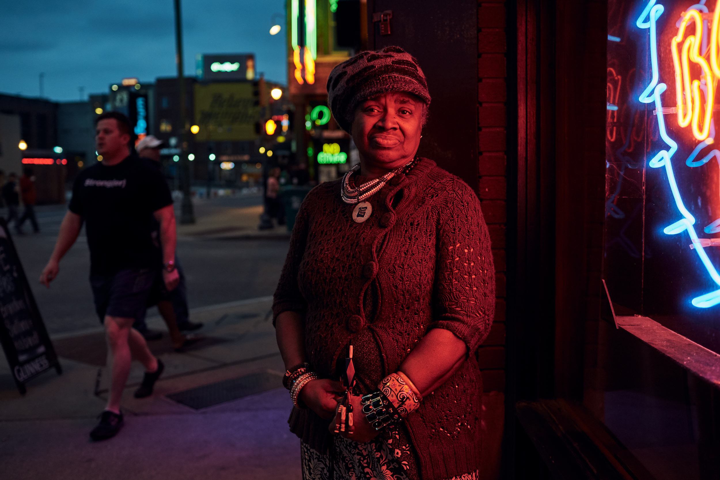 Carla Thomas in Memphis, washington dc portrait photography