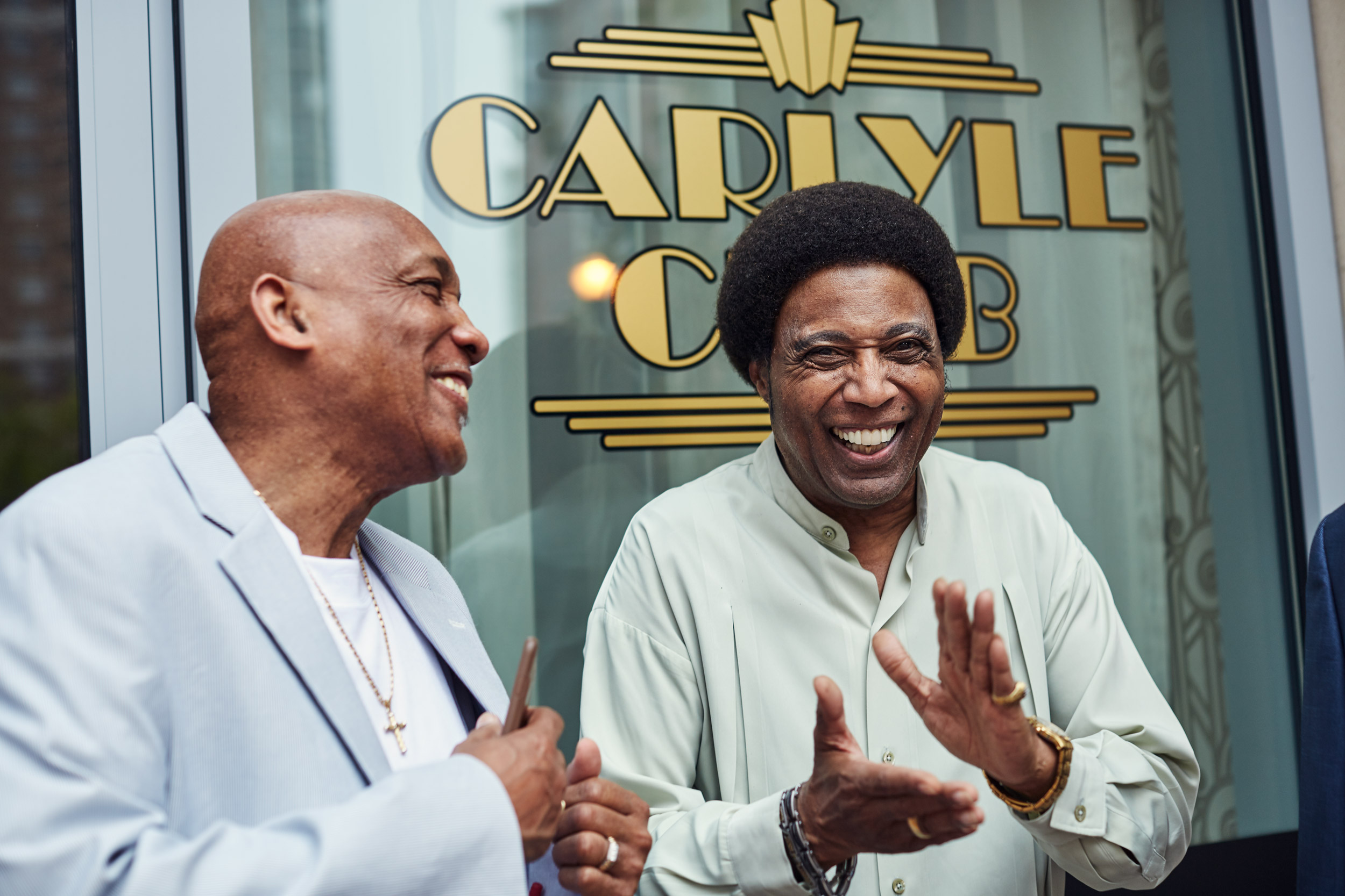Leonard Coleman & Blunt at The Carlyle Club, washington dc portrait photography